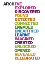 Image shows the Discover Your Archive brand